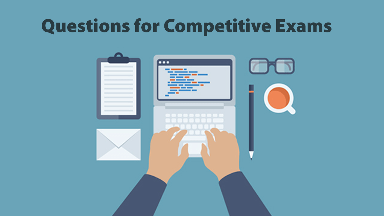 Content for Competitive Exams, Competitive Exams Questions Writer - ELK  India